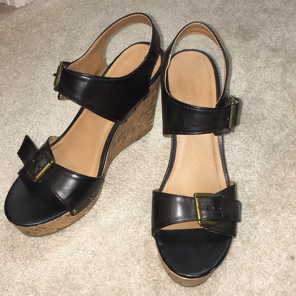 6685b56592 Mossimo Supply Co. Shoes | Platform Cork Wedges | Poshmark